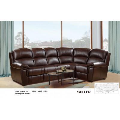 Stūra dīvāns-gulta Miller 2