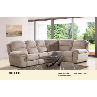 Stūra dīvāns-gulta Miller 3