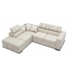 Ādas dīvāns 202