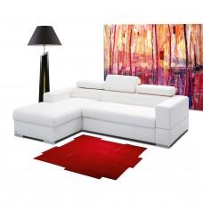 Ādas dīvāns 210