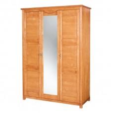 Malaga 3 durvju skapis ar spoguli