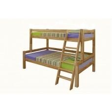 Koka gulta pusotrstāvīga