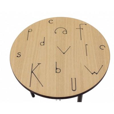 Apaļš kafijas galds Arty Letter
